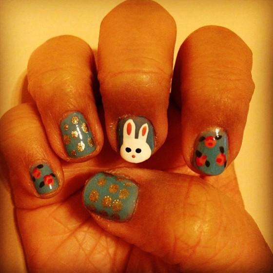 TT easter nails