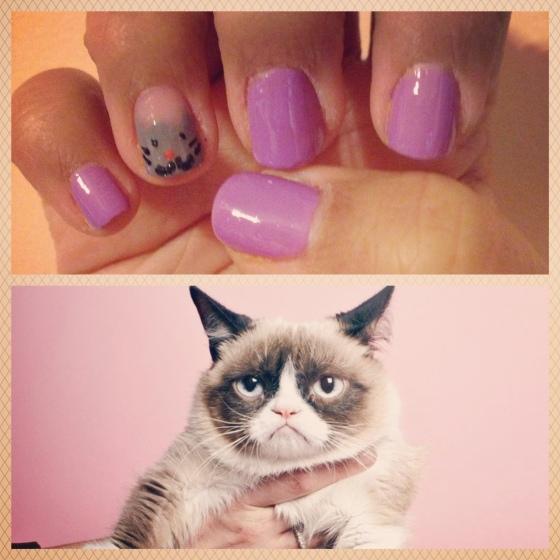 TT cat nails