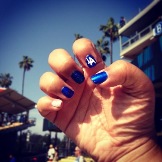 tt dodgers nails