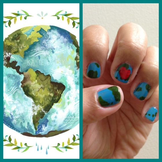 TT earth day nails